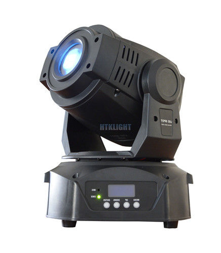75W LED Spot Moving Head Light 0-100% Smooth Linear Dimming , 7 Colors