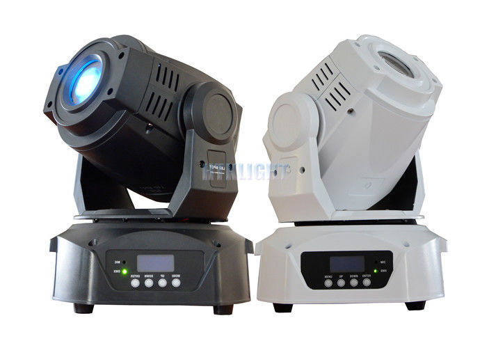Intelligent Control LED Spot Moving Head Light , 90W Gobo Stage Lighting Easy Operation