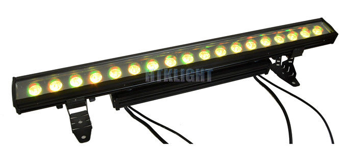 2700 K RGBW 4 In1 LED Wall Washer For Events Colour Rainbow Effect With Variable Speed